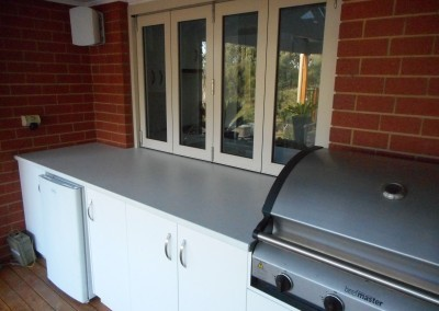 Outdoor kitchen with inbuilt BBQ Balhannah