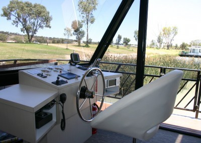 House Boats Joinery and cabinet making fit-out – cabinets for helm dashboard