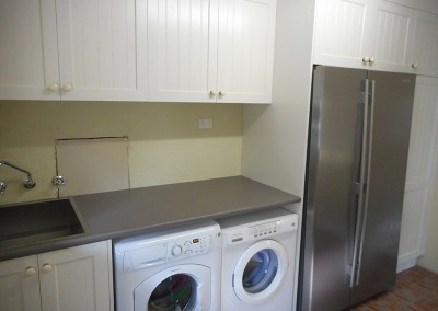 Laundry with built in hamper built in Nairne, Adelaide Hills