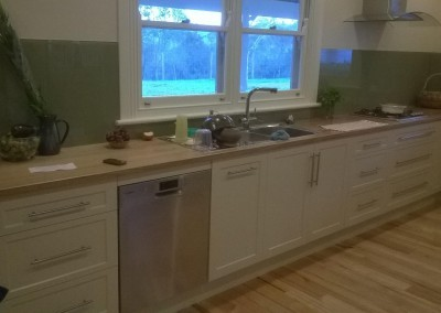 Country style kitchen install Mt Barker, Adelaide Hills