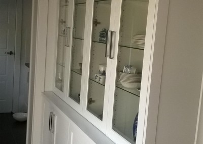 White painted dining room cabinet Aldgate, Adelaide Hills
